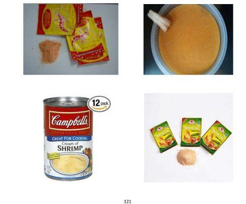 طرح توجیهی تولید سوپ آماده میگو ( عصاره میگو) pfs